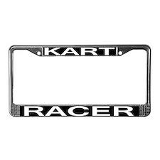 Kart Racer License Plate Frame