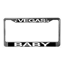 VEGAS BABY License Plate Frame