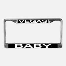 VEGAS BABY License Plate Frame