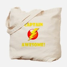 Captain Awesome! Tote Bag