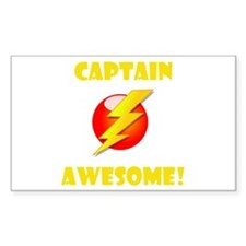 Captain Awesome! Decal