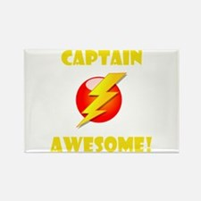 Captain Awesome! Rectangle Magnet