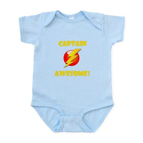 Captain Awesome! Infant Bodysuit