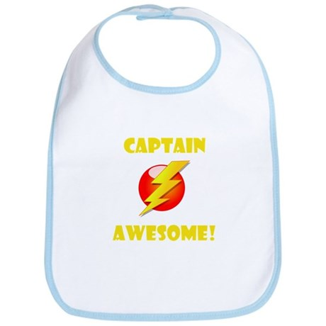 Captain Awesome! Bib