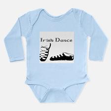 For the Irish Dancer Long Sleeve Infant Bodysuit