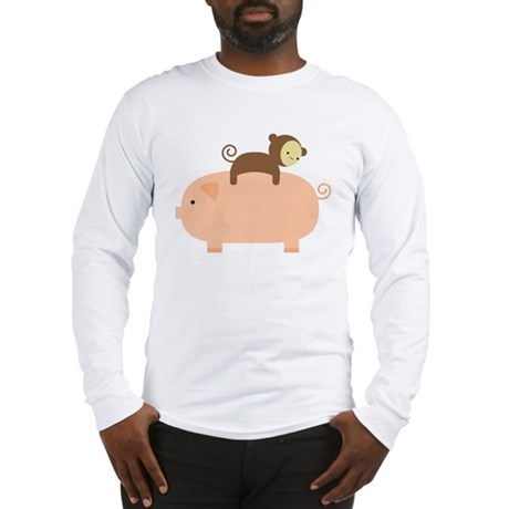 Baby Monkey Long Sleeve T-Shirt