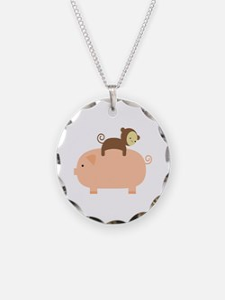 Baby Monkey Necklace