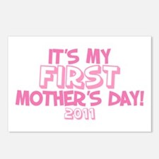 It's My First Mother's Day 2011 Postcards (Package