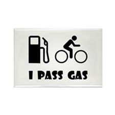 I Pass Gas! Rectangle Magnet