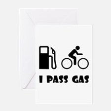 I Pass Gas! Greeting Card