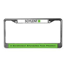 Soylent License Plate Frame