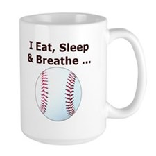 Baseball Eat Sleep Breathe Mug