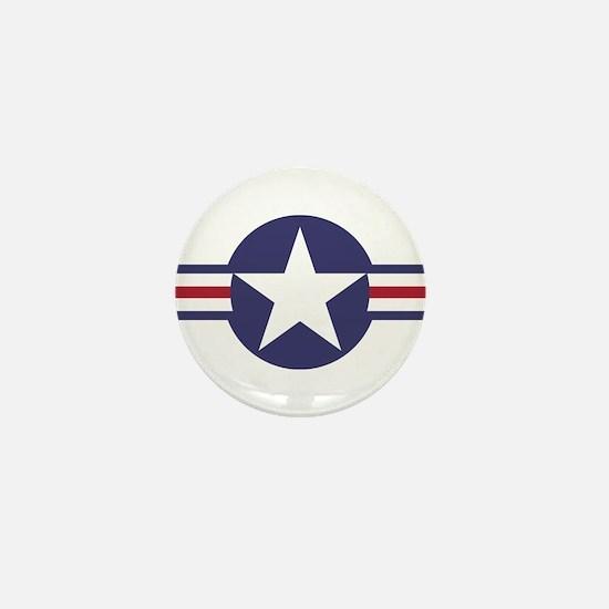 USA Roundel Mini Button