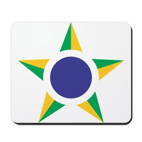 Brazil Roundel Mousepad