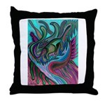 Valley Cat 5 Throw Pillow