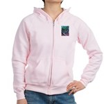 Valley Cat 5 Women's Zip Hoodie