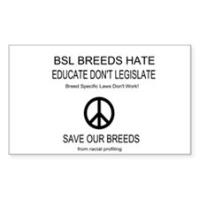 NO BSL Decal