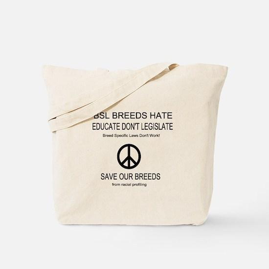 NO BSL Tote Bag
