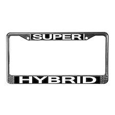 Super Hybrid License Plate Frame
