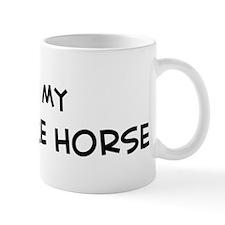 I Love Nez Perce Horse  Mug