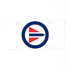 Norway Roundel Aluminum License Plate