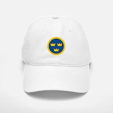 Sweden Roundel Baseball Baseball Cap