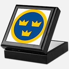 Sweden Roundel Keepsake Box