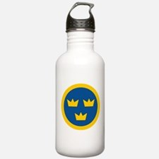 Sweden Roundel Water Bottle
