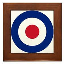 UK Roundel Framed Tile