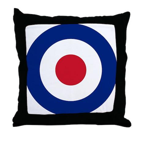 UK Roundel Throw Pillow