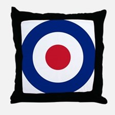 UK Roundel Throw Pillow