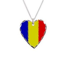 Romanian Flag Necklace