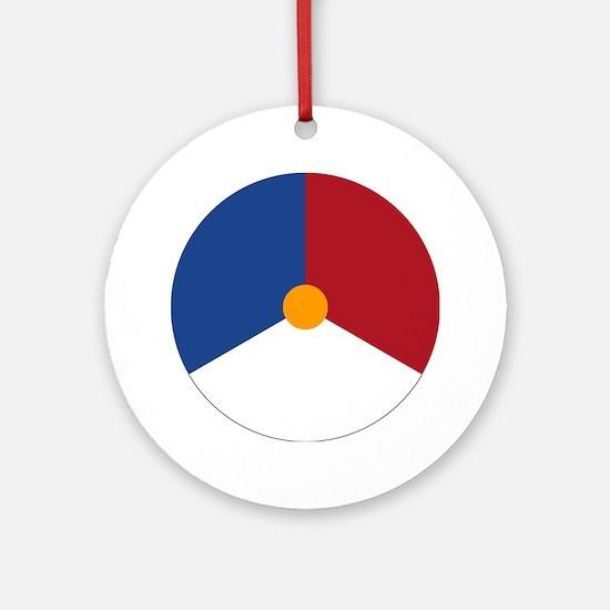 Netherlands Roundel Ornament (Round)