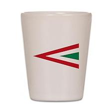 Hungary Roundel Shot Glass
