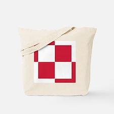 Poland Roundel Tote Bag
