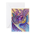 Valley Cat 1 Greeting Cards (Pk of 10)