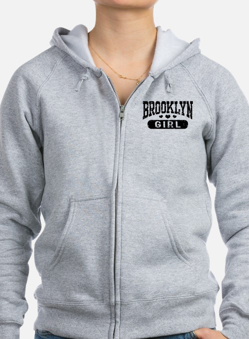 Brooklyn Girl Zip Hoody