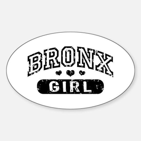 Bronx Girl Sticker (Oval)