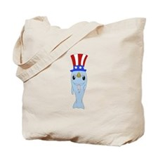 Uncle Narwhal Tote Bag