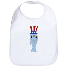 Uncle Narwhal Bib