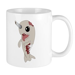 Zombie Narwhal Mug