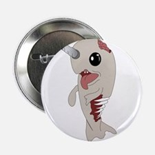 "Zombie Narwhal 2.25"" Button (10 pack)"