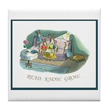 Bunny Bungalow Tile Coaster