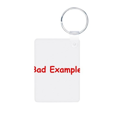 SG Bad Example Aluminum Photo Keychain