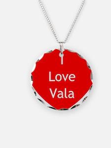 SG Love Vala Necklace Circle Charm