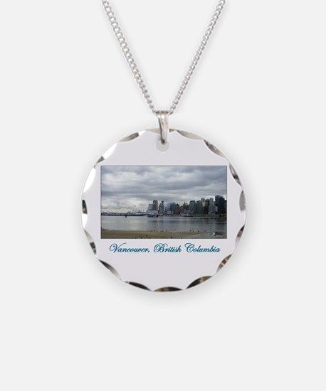 Downtown Vancouver BC Necklace