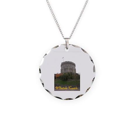 Windsor Castle Necklace Circle Charm