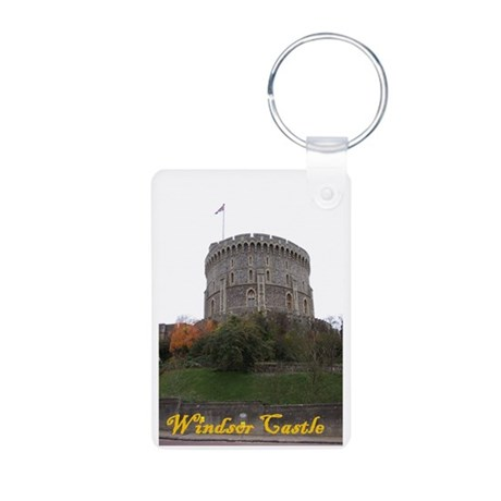 Windsor Castle Aluminum Photo Keychain