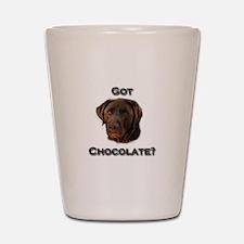 Got Chocolate? Shot Glass