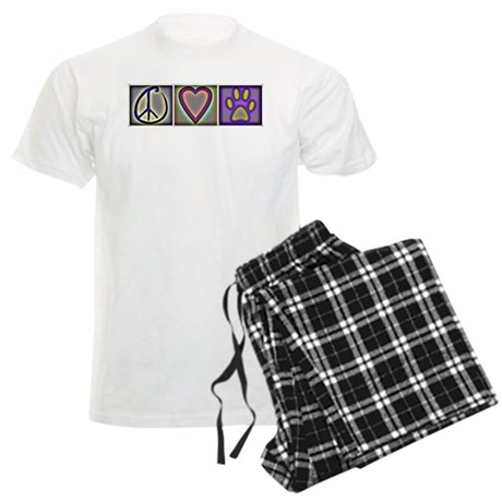 Peace Love Dogs - Men's Light Pajamas